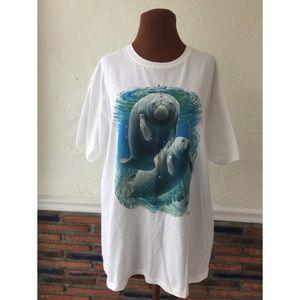Vintage Manatee T- Shirt